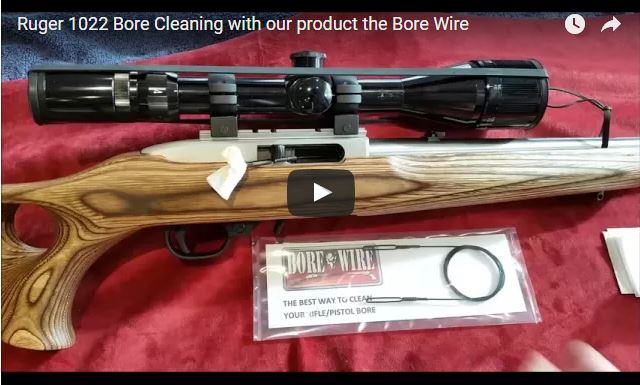 Ruger 10 22 Target Barrel Cleaning Bore Wire Hd No